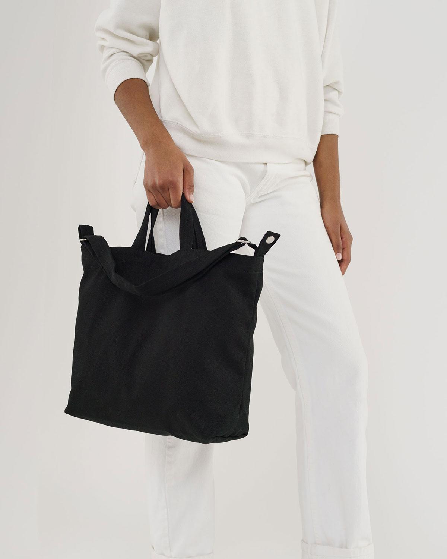 תיק צד שחור Horizontal Duck Bag